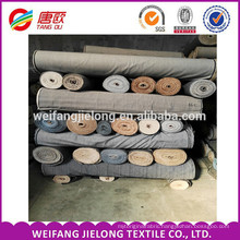 Wholesale denim Stock Fabric T/C woven or Yarn Dyed Shirting Fabric with the Cheap price