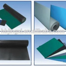 Grey Black, Black Black, Blue Black Conductive And Antistatic Rubber Sheet / Mat