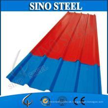 Farbüberzogene Wellp PVC-Plastikfliesen-Überdachung
