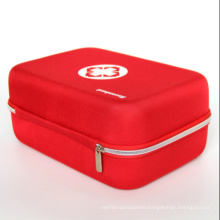 Red cross printing smart empty first aid kit case, red cross home kit