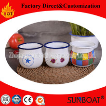 Sunboat Enamel Milk Cup Drinkware Home Appliance