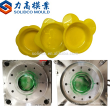 disposable colorful plastic party plate plastic injection mould/ mold/ tooling