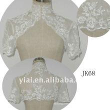 JK68 women Beaded Long sleeves wedding jacket