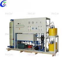 Máquina de tratamento de filtro de purificação de água salgada RO