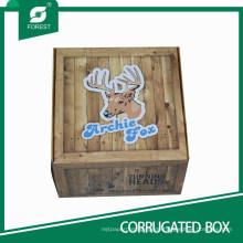 Dekorative Wellpappe Karton