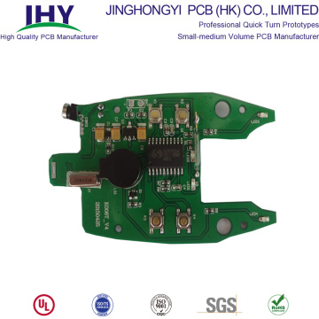 10 Layer Immersion Sliver Finish PCB