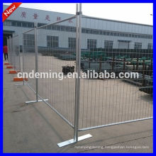 Temporary fence for security