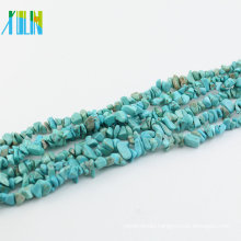 Necklace fittings semi precious stone turquoise stone chips for jewelry
