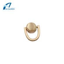 Bolso de metal de tamaño pequeño Accesorios decorativos Asa superior