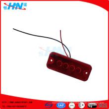 4 luces laterales del carro del LED 24V para el remolque de carro
