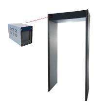 Puerta del escáner de seguridad del detector de temperatura del cuerpo humano