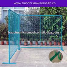 Temporary wire fence garden fencing