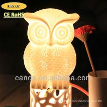 Lampe de table en cristal Creative Owl