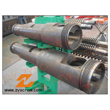 Plastic Machinery Bimetallic Conical Twin Screw and Barrel