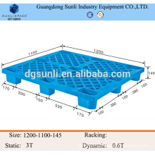 9 feets hight quality warehouse plastic pallet