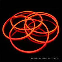 orange glow stick necklace