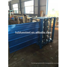 Vertical Type Arch Roof Sheet Roof Tile Making Machine , Vertical Curved Roof Tile Making Machinery
