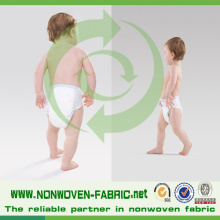 Hydrophiles Vlies für Babywindel Rohstoff