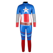 Wetsuit Seaskin Kids 3mm Pele Lisa de Volta com Zíper