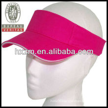 Custom Sun VISOR GOLF tennis headband cap
