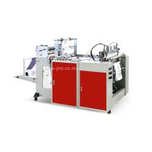 Machine de fabrication automatique de sacs de transport en plastique haute vitesse