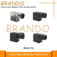 Conector de válvula DIN Form B de 11 mm acoplável em campo