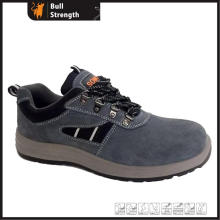Suede Leather Protective Shoe with Steel Toe&Midsole (SN5428)