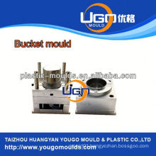 high polish injection bucket mould factory/new design paint bucket mould in China