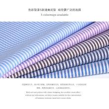 tecido de algodão tingido 100% algodão sob medida em tira e cheque