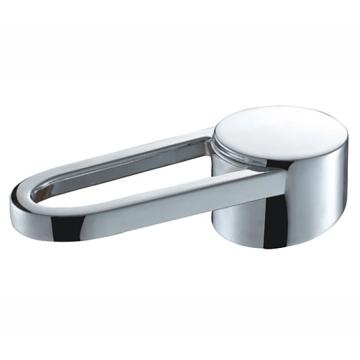 Poignée de robinet en métal assortie à la pomme de douche