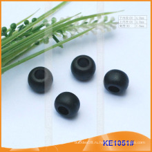 Мода Пластиковый конец шнура / шарик для одежды KE1051 #