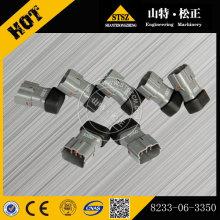 Komatsu spare parts PC300-8 excavator diode 8233-06-3350