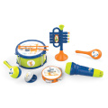 2020  New Kids Plastic Educational Musical Instruments Drum Set Toy for Children