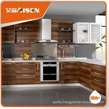 Excellent melamine kitchen cabinet,flat pack kitchen cabinet,Knocked down kitchen cabinet