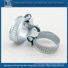 Galvanized Steel American Type Hose Clamp