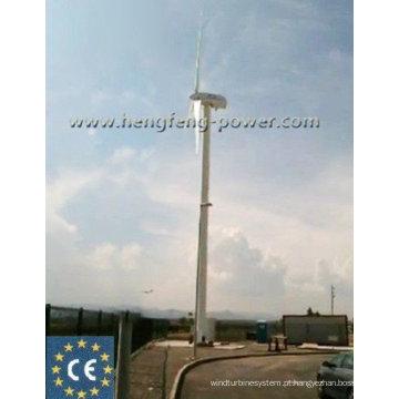 100kw geradores de vento três fase e ímã permanente