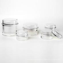 15g/30g/50g/100g/200g Cylinder Acrylic Cream Jar (EF-J04)