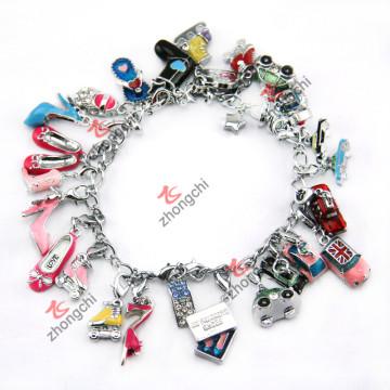 Vente en gros Pendentifs 3D pour accessoires en bracelet (ZC-MPE)