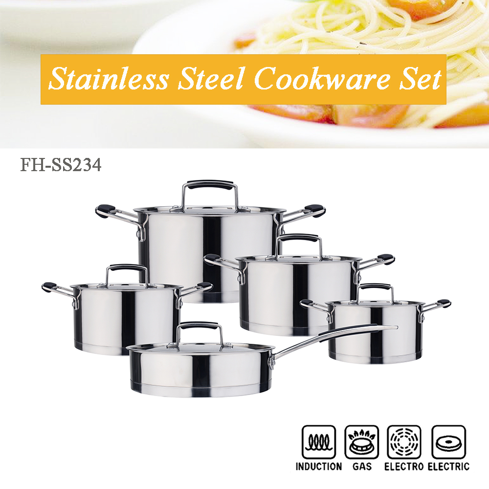 straight body cookware set