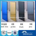 Silberner Spiegelblatt, Aluminiumrahmen-Badezimmerspiegel, silberne Spiegelrückseitenfarbe