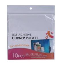 Auto adhésive coin Pocket