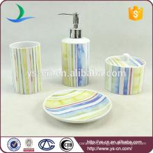 Wholesale fancy porcelain bath accessories