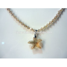 Crystal necklace in China