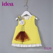 72129 Nouveau design pour bébé fille robe jupe pull