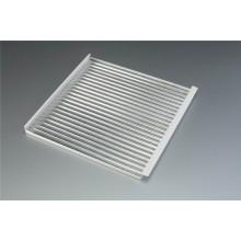 600*600mm Corrugated Aluminum Cladding Sheet