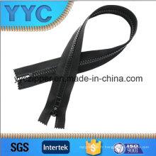 8 # Fermeture en plastique à chaîne longue Fermeture à glissière pour vêtements de sport