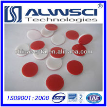 13mm PTFE Silicone Septa, pre-slit available