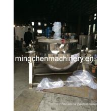 Electric Heating Multi-Function Jacketed Cooking Kettle with Agitator