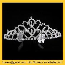Rhinestone Natal coroa e tiara