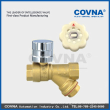 Excellent quality brass ball ball valve with strainer